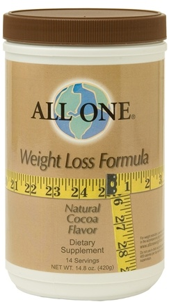 DROPPED: All One - Weight Loss Formula Cocoa Flavored - 14.8 oz. CLEARANCE PRICED