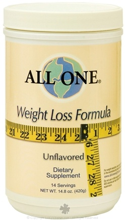 DROPPED: All One - Weight Loss Formula Unflavored - 14.8 oz. CLEARANCE PRICED