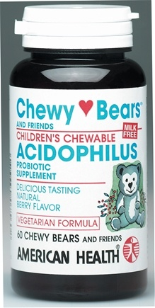 DROPPED: American Health - Children's Chewable Acidophilus - 60 Wafers
