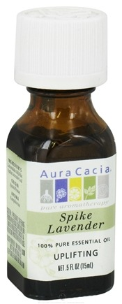 DROPPED: Aura Cacia - Essential Oil Activating Spike Lavender - 0.5 oz. CLEARANCE PRICED