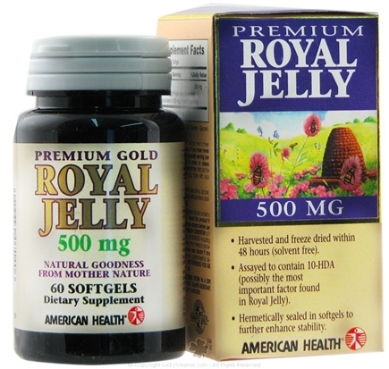 DROPPED: American Health - Premium Gold Royal Jelly - 60 Softgels