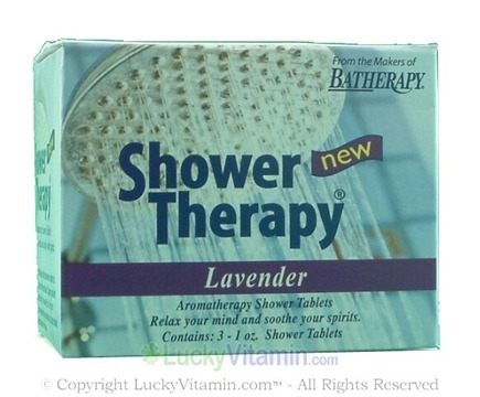 DROPPED: Queen Helene - Aromatherapy Shower Tablets Lavender - Tablets