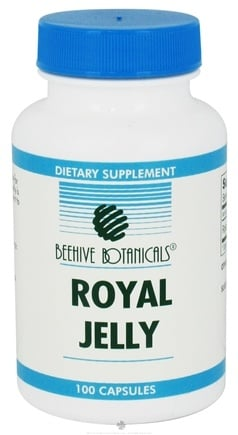 DROPPED: Beehive Botanicals - Royal Jelly 500 Mg. - 100 Capsules