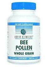 DROPPED: Beehive Botanicals - Whole Grain Bee Pollen Capsules - 100 Capsules
