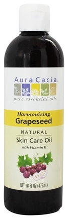 DROPPED: Aura Cacia - Natural Skin Care Oil Grapeseed - 16 oz.