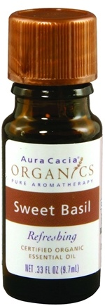 DROPPED: Aura Cacia - Essential Oil Organic Sweet Basil - 0.33 oz.