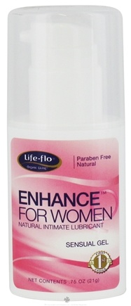 DROPPED: Life-Flo - Enhance For Women Natural Personal Lubricant - 0.75 oz. CLEARANCE PRICED