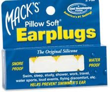 DROPPED: Mack's - Pillow Soft Earplugs - 2 Pair CLEARANCE PRICED