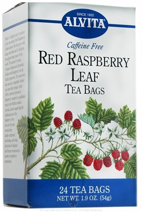 DROPPED: Alvita - Red Raspberry Leaf Caffeine Free - 24 Tea Bags