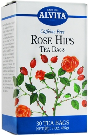 DROPPED: Alvita - Rose Hips Caffeine Free - 30 Tea Bags