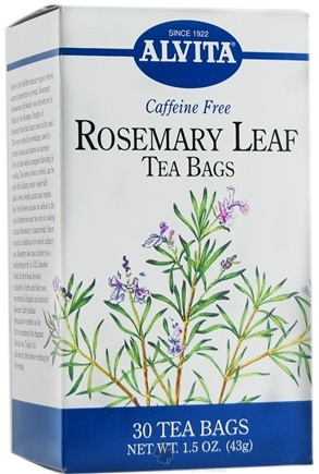 DROPPED: Alvita - Rosemary Leaf Caffeine Free - 30 Tea Bags