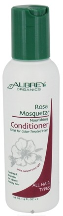 DROPPED: Aubrey Organics - Rosa Mosqueta Nourishing Conditioner - 4 oz. CLEARANCE PRICED
