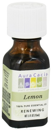 DROPPED: Aura Cacia - Essential Oil Renewing Lemon - 0.5 oz.