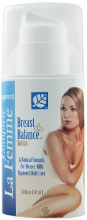 DROPPED: Baywood International - Breast & Balance Lotion - 3 Oz.