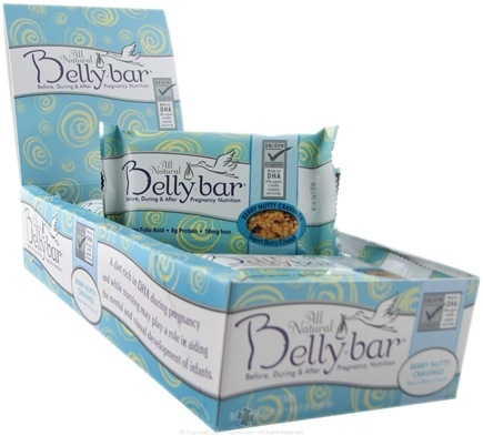 DROPPED: Belly Bar - All Natural Berry Nutty Cravings Snack Bar Yogurt Berry Crunch - 1 Bars