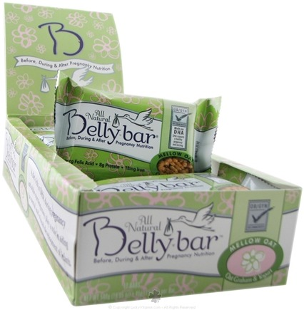 DROPPED: Belly Bar - All Natural Mellow Oat Snack Bar Oat Graham & Yogurt - 1 Bars