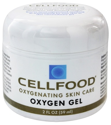Lumina Health - Cell Food Oxygen Gel Oxygenating Skin Care - 2 oz.