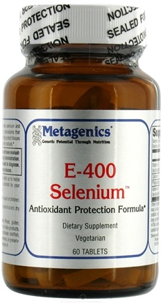 DROPPED: Metagenics - E-400 Selenium - 60 Tablets
