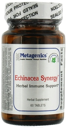 DROPPED: Metagenics - Echinacea Synergy - 60 Tablets CLEARANCE PRICED