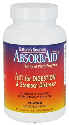 DROPPED: Absorbaid - Digestive Enzyme Powder - 100 Grams