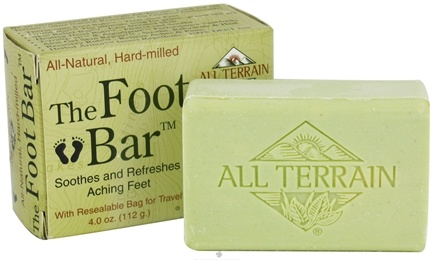 DROPPED: All Terrain - The Foot Bar Soap - 4 oz. CLEARANCE PRICED