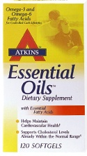DROPPED: Atkins Nutritionals Inc. - Essential Oils - 120 Softgels