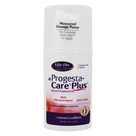 Life-Flo - Progesta-Care Plus Natural Progesterone Body Cream - 4 oz.