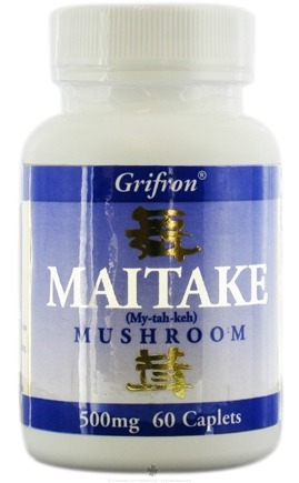 DROPPED: Mushroom Wisdom - Grifron Maitake - 60 Caplets Formerly Maitake Products