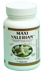 DROPPED: Maxi-Health Research Kosher Vitamins - Valerian Root and St. John`s Wort Liquid - 1 oz.