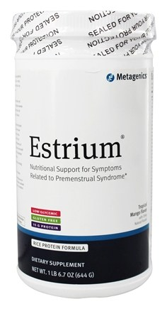 Metagenics - Estrium Medical Food Natural Tropical Mango - 23 oz.