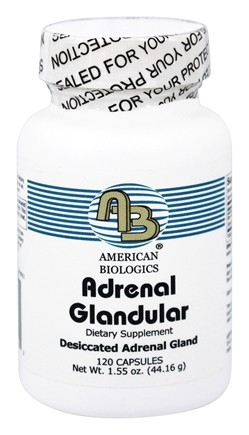 American Biologics - Adrenal Glandular 160 mg. - 120 Tablets