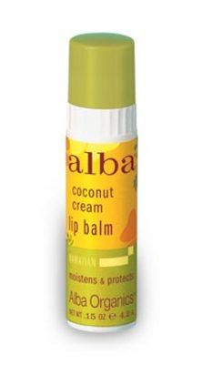 DROPPED: Alba Botanica - Alba Organics Lip Balm Coconut Cream - 0.15 oz.