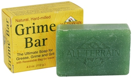 DROPPED: All Terrain - Grime Bar Soap - 4 oz. CLEARANCE PRICED