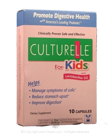 DROPPED: Culturelle - Culturelle for Kids - 10 Capsules