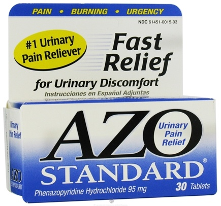 DROPPED: Azo - Standard Urinary Tract Relief - 30 Tablets