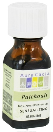 DROPPED: Aura Cacia - Essential Oil Sensualizing Patchouli - 0.5 oz. CLEARANCE PRICED