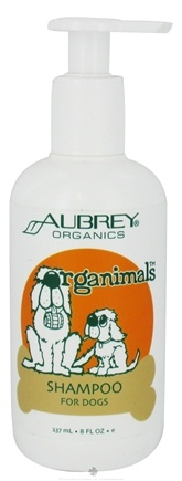 DROPPED: Aubrey Organics - Organimals Pet Shampoo For Dogs - 8 oz. CLEARANCE PRICED