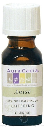 DROPPED: Aura Cacia - Essential Oil Anise (Pimpinella Anisum) - 0.5 Oz.
