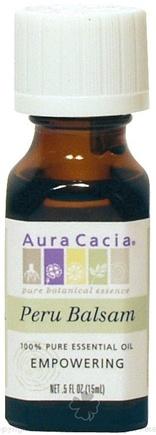 DROPPED: Aura Cacia - Essential Oil Balsam Peru (Myroxylon Pereae) - 0.5 oz. CLEARANCE PRICED