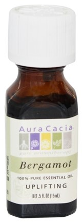 Aura Cacia - Essential Oil Uplifting Bergamot - 0.5 oz.