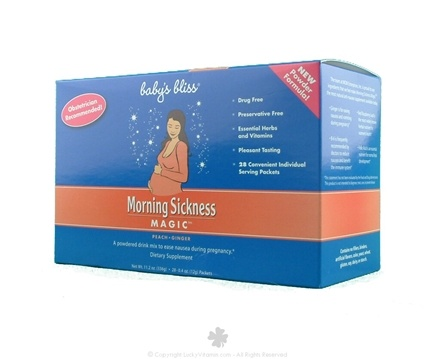 DROPPED: Mommy's Bliss - Morning Sickness Magic Powdered Drink Mix - 28 Packet(s) formerly Baby's Bliss