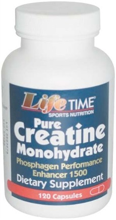 DROPPED: LifeTime Vitamins - 100% Pure Creatine 750 mg. - 120 Capsules