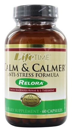 LifeTime Vitamins - Calm & Calmer - 60 Capsules Contains Magnolia Bark