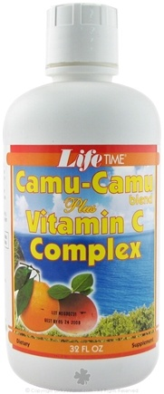 DROPPED: LifeTime Vitamins - Camu-Camu Blend Plus Vitamin C Complex - 32 oz.