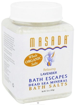 DROPPED: Masada - Bath Escapes Bath Salts Lavender - 1 lb. CLEARANCE PRICED