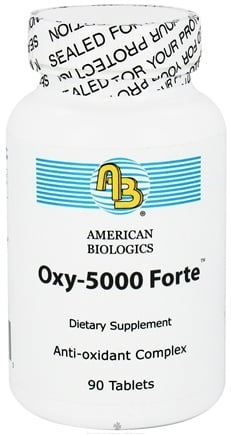 DROPPED: American Biologics - Oxy-5000 Forte - 90 Tablets CLEARANCE PRICED