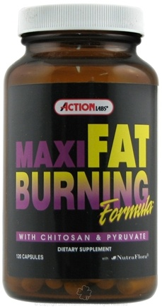 DROPPED: Action Labs - Maxi Fat Burning System - 120 Capsules