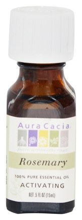 Aura Cacia - Essential Oil Activating Rosemary - 0.5 oz.