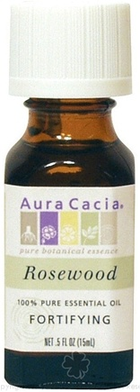 DROPPED: Aura Cacia - Essential Oil Fortifying Rosewood - 0.5 oz.
