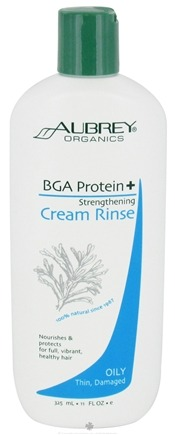 DROPPED: Aubrey Organics - BGA Protein + Strengthening Cream Rinse - 11 oz. CLEARANCE PRICED